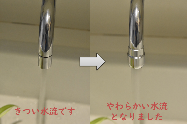 水流の比較