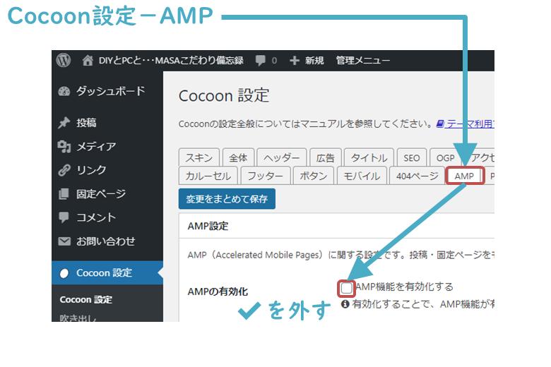 対策2:AMP非対応化